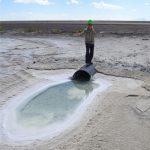 Evan Kipnis on the Bonneville Salt Flats
